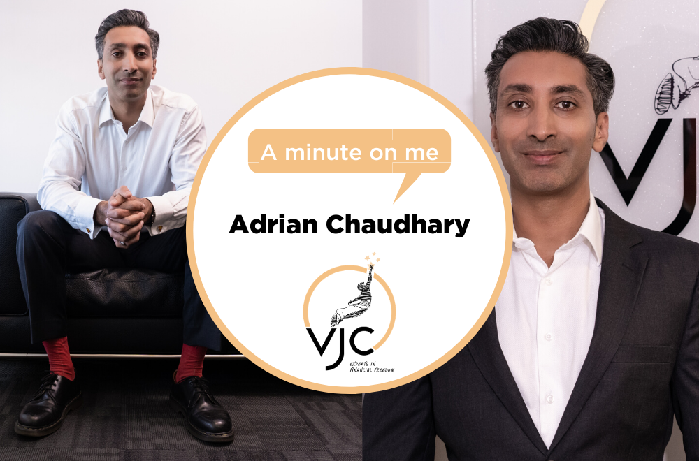 A minute on me - Adrian Chaudhary, VJC