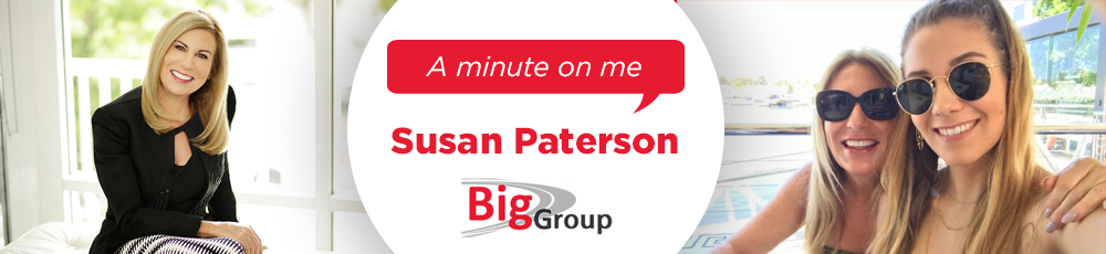 A minute on me - Susan Paterson, Business Insurance Group